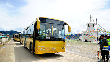 Take the event bus from Kunming to Shangri La!