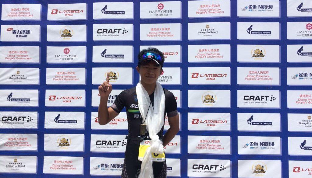 中国选手陈家栋以惊人成绩获得冠军!