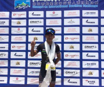 Outstanding Chenjiadong Wins Shangri-la Duathlon